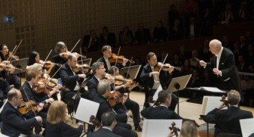 Bernard Haitink et le Chamber Orchestra of Europe (Photo : PKetterer/Festival de Lucerne)
